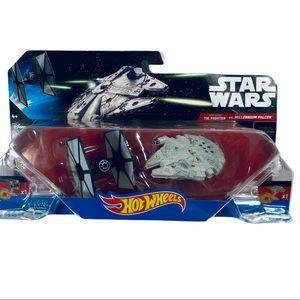 Star Wars The Falcon vs. Millennium Falcon Toy